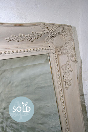 Pedran hand painted shabby chic  Ornate Large Mirror