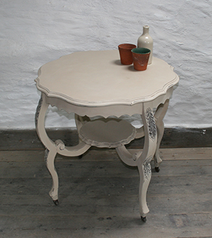 Pedran hand painted shabby chic  Side Table