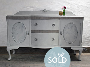 Pedran hand painted shabby chic  Pretty French style Sideboard/Dresser