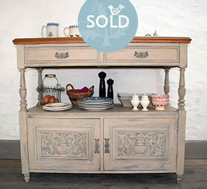 Pedran hand painted shabby chic  Dresser, Server or Sideboard