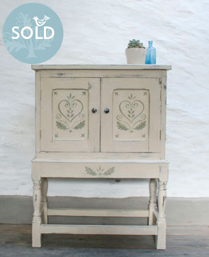 Pedran hand painted Cabinet