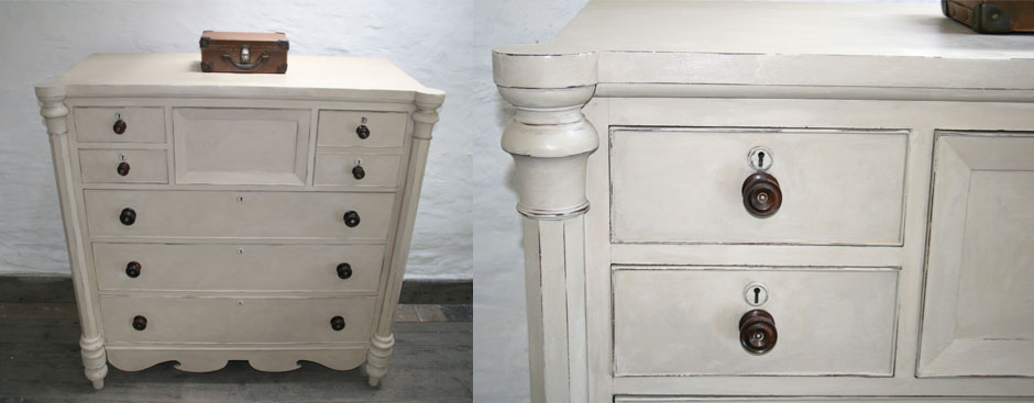 Pedran hand painted Scotch Chest of Drawers