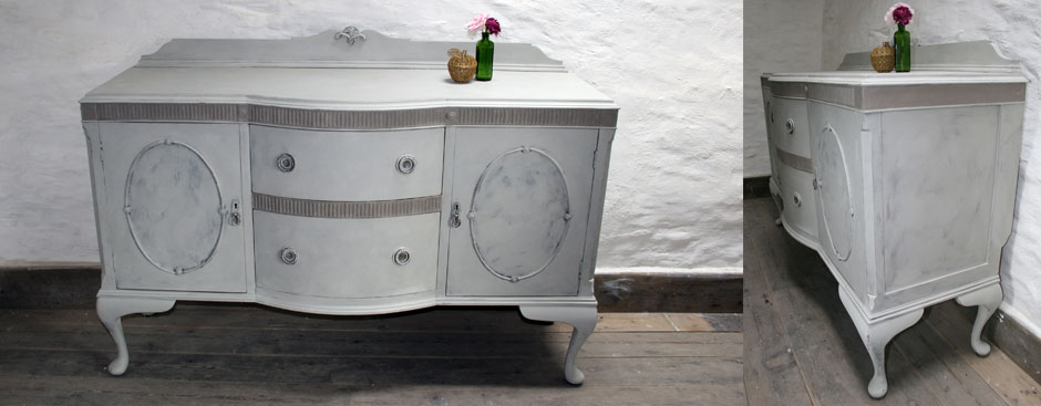 Pedran hand painted Pretty French style sideboard/dresser