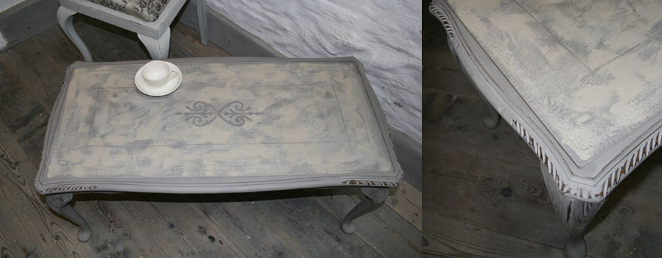 Pedran hand painted Coffee table